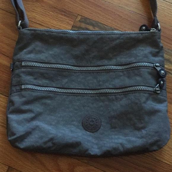 Árbol de tochi Reparación posible margen  Kipling Bags | Kipling Alvar Crossbody Bag In Dark Gray | Poshmark